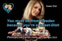 Cheesy - Pickup Line Cards