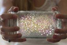 Glitter, diamonds
