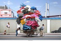 Overbeladen / overload / Vervoer, vrachtvervoer in te grote hoeveelheden voor het vervoermiddel