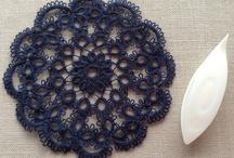 tatting lace making