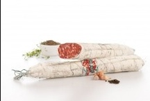 Our delicious salami production... / A selection of our best deliciuos salami!