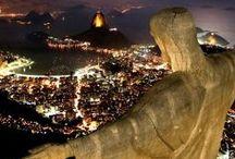 I LOVE RIO DE JANEIRO - BRAZIL / Images of the city of Rio de Janeiro who always welcomes me with open arms!