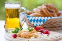 Traditional German & Austrian Food / Germany and Austria have many different cuisines that grew out of the different environments and political states that make up the German-speaking regions in Europe. Enjoy the variety!