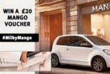 Mii by Mango / The new Mii by Mango is the Ultimate Fashion Accessory, a timeless classic that will work with any outfit. The Urban car for a City girl #SeatMii #MiibyMango - And don't forget to check out our #Competition / by Swansway Group