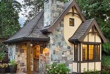 Dreamy cottage houses