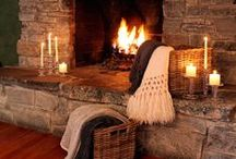 Who doesn't love a FIREPLACE ?