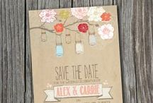 Save the date pretty ideas