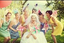 Bridesmaids all over