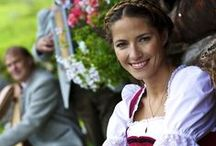 Dirndl, Lederhosen & Trachten / Not sure what to wear for Oktoberfest season? Dirndls, Lederhosen and Tracht are traditional national costumes in German-speaking countries. They make the perfect outfit for Oktoberfest celebrations and Biergarten Festivals everywhere.