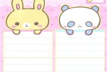 Envelopes Kawaii Free Printables / I love K.a.W.a.I.i.