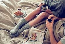 My idea of cozy...and cuddle...and bliss