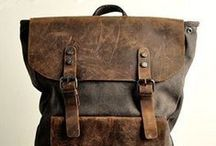 ~ Leather Luggage Carriers ~ / • bags •