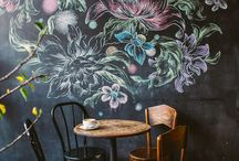 Chalkboard Chic / Up cycling ideas