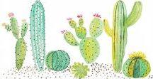 Cactus / cacti arts & DIY *-*
