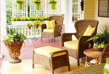 Home - Sunroom, Porches & Lanais / A sunroom would be sunny, a porch would be a nice place to sit and a lanai would be what I most likely end up with in Florida. To each his home and to each the possibilities are endless.