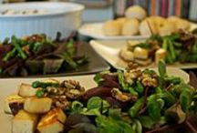 Salads - small & large / vegetarian and eggs / by SK Narasimhan
