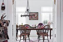 dining room love / by Bee Deeley