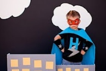 Party Ideas--Superheroes / by Hr Yost