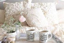 INTERIOR DECORATION / interior, decoration, house, pastel, pink, white, gold, grey, cozy