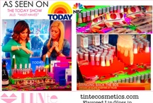 TINte on the Today Show / TINte Cosmetics has been featured on the Today Show three times.  Here are some of our products that were featured! #flavoredlipgloss, #flavoredlipbalm, #vintageslidertins / by TINte Cosmetics