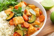 Healthy Thai Recipes / clean eating Thai recipes || healthy Thai recipes || pad Thai recipes || Thai summer rolls || gluten- free Thai curry recipes || paleo Thai recipes || vegan pad Thai
