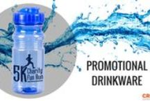 Drinkware / From water bottles, to coffee mugs to color changing cups! We have the promotional drinkware you need to speak to your audience. / by Crestline Promos