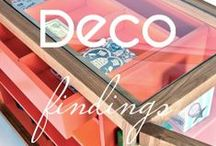 Deco Findings / Stylish furniture and home accesories