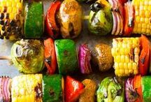 Summer Grilling / healthy summer grilling recipes || clean eating grilled recipes || healthy bbq recipes || healthy spice rubs, seasonings + marinades || grilled fruit recipes || grilled paleo recipes || grilled plant-based recipes