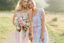 WEDDING DRESSES / wedding, dresses, bride, party, celebration, bridesmaids, happy, love, gown, romance, marriage