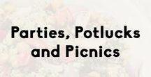 Potlucks, Parties & Picnics / The perfect recipes to bring to a party, potluck or picnic.