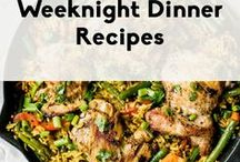 Weeknight Dinner Recipes / Healthy and delicious meals, perfect for busy weeknights