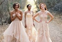 WEDDING / wedding, party, bride, groom, celebrate, bridesmaids, love, forever, couple, marriage, family, gown, ceremony, smile, romance, flower