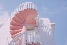 ARCHITECTURE / architecture, pastel, pink, city, travel, visit, beautiful, doors