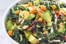 Kale Yeah! Kale Salads / kale salads || superfood kale salads || kale bowls || gluten-free kale salads || kale buddha bowls