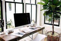 arbeitsplatz. / Inspiration und Einrichtigungsideen rund um einen hübschen Arbeitsplatz und das Home Office.