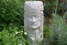 Hebel block sculpture