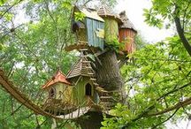 Tree Houses / I just love tree houses and wish I had one.