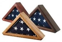 Display & Memorial Cases / by United States Flag Store