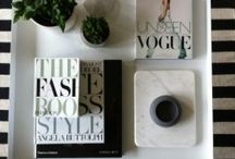 vignettes / Style a special spot in your home using what you have. Scandinavian and vintage elements a speciality.