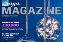 Saga Magazine / Saga Magazine covers and back issues - available via the Pocketmags App.