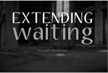 EXTENDING WAITING 1998 / Extending waiting.  www.fryderykdanielczyk.com www.artandlaw.pl
