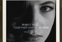 TOGETHER WE CAN DO MORE 2004 / Together we can do more. Make it real. www.artandlaw.pl www.fryderykdanielczyk.com