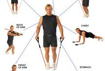 Home Gym for Tennis Players / Strength, muscle toning and fitness for tennis players