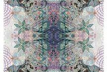 { inspired . #3 } / inspired by . kaleidoscopes . AlexanderMcQueen . mandalas . DamienHirst . kaleidocycles .