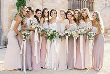 Bridesmaid dresses / About wedding