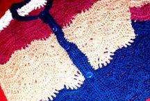 sweter ondas / #crochet #ondas