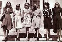 The 40's fashion
