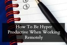 Remote Worker Tips / Tips and ideas for remote workers of all sorts - WAHMs, freelancers, entrepreneurs, etc.