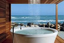 Bathroom Inspirations / You will find so much ideas for the lovely bathroom.