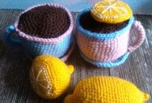 Crochet - Food & drinks
